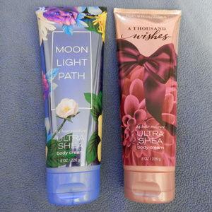 Bath & Body Works Bundle of Ultra Shea Body Cream